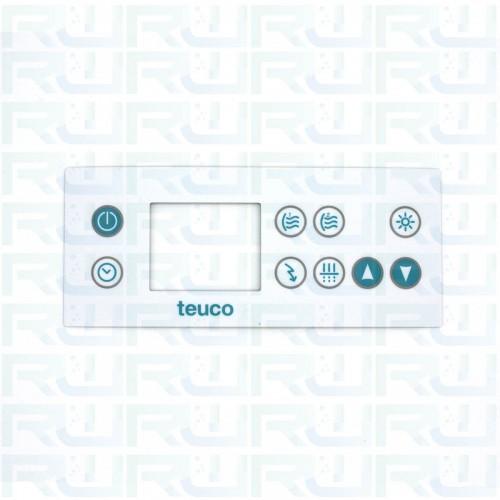 Mascherina 9 tasti per tastiera minipiscina TEUCO