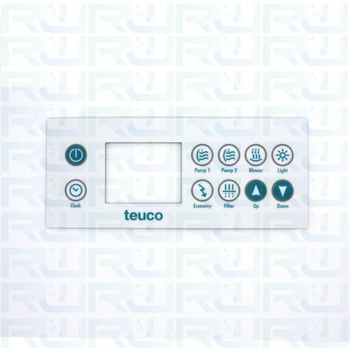 Mascherina 10 tasti per tastiera minipiscina TEUCO