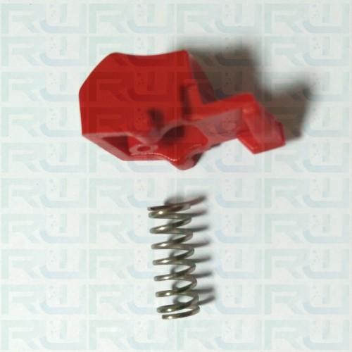 Pulsante + molla per anello termostatico TALOCCI
