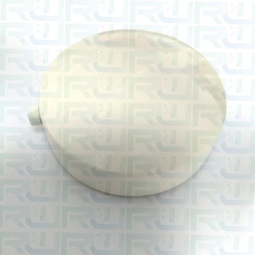 Manopola colonna scarico bianca